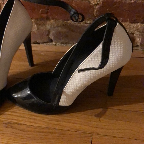 JustFab Shoes | Black And White Heels